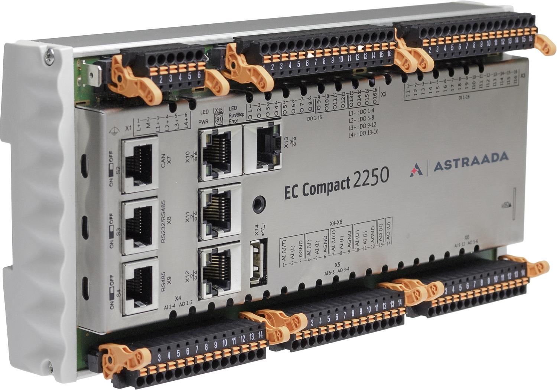 Astraada One ECC2000 kompaktowy sterownik PLC