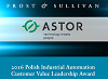 ASTOR Frost Sullivan Leadership Award 2016