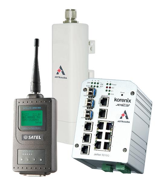 monitoring zdalne sterowanie warstwa komunikacji ASTOR
