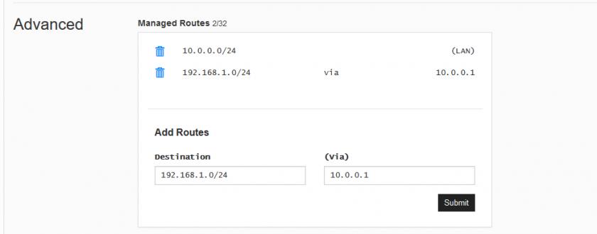 Przekierowanie ruchu przez tunel VPN, Źródło: Mission Critical by ASTOR