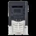 Falownik jednofazowy 0.75 kW, wbudowany panel sterowania LED i port RS-485 1