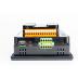 "Sterownik PLC z HMI XL7e - 7"", 12 DI (24 VDC), 12 DO (24 VDC), 2 AI (0-10V, 0-20mA); zasilanie 9-30VDC 1"