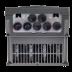 Falownik trójfazowy wektorowy 22 kW, filtr EMC, funkcje wentylatorowo-pompowe 1