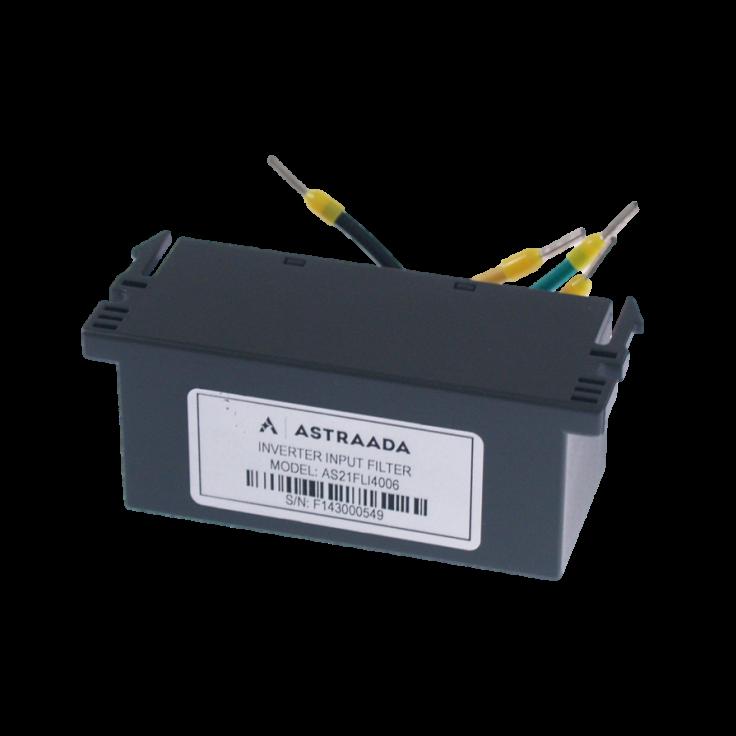 Filtr wejściowy klasy C3 do falownika serii DRV-24, 0.7-2.2 kW, zasilanie 3x400V