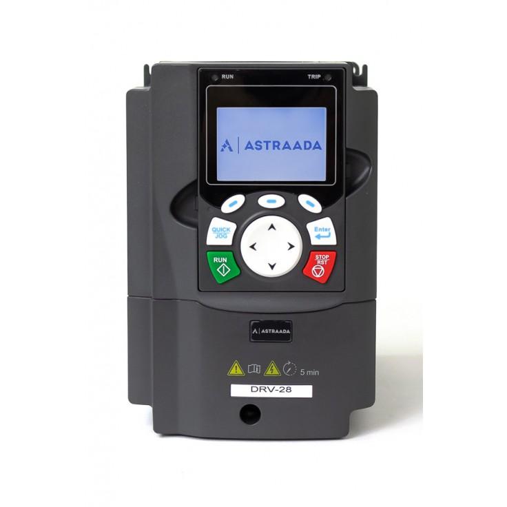Falownik do silnika 1.5 kW wektorowy, STO, filtr EMC, panel LCD