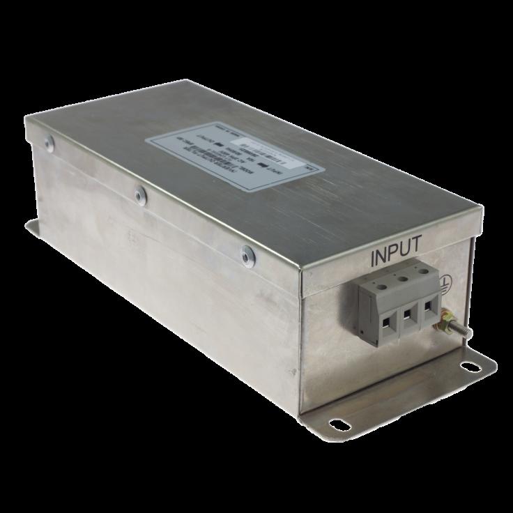 Filtr wejściowy klasy C2 do falownika 2.2/4/5.5 kW, zasilanie 3x400 V