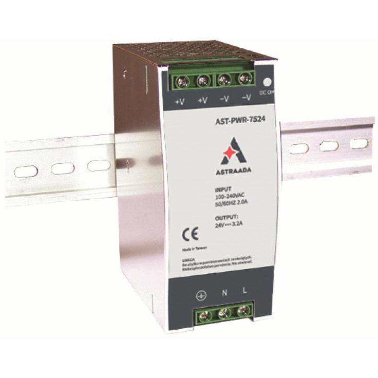 Zasilacz impulsowy (110-220VAC / 24V/3,2A DC)