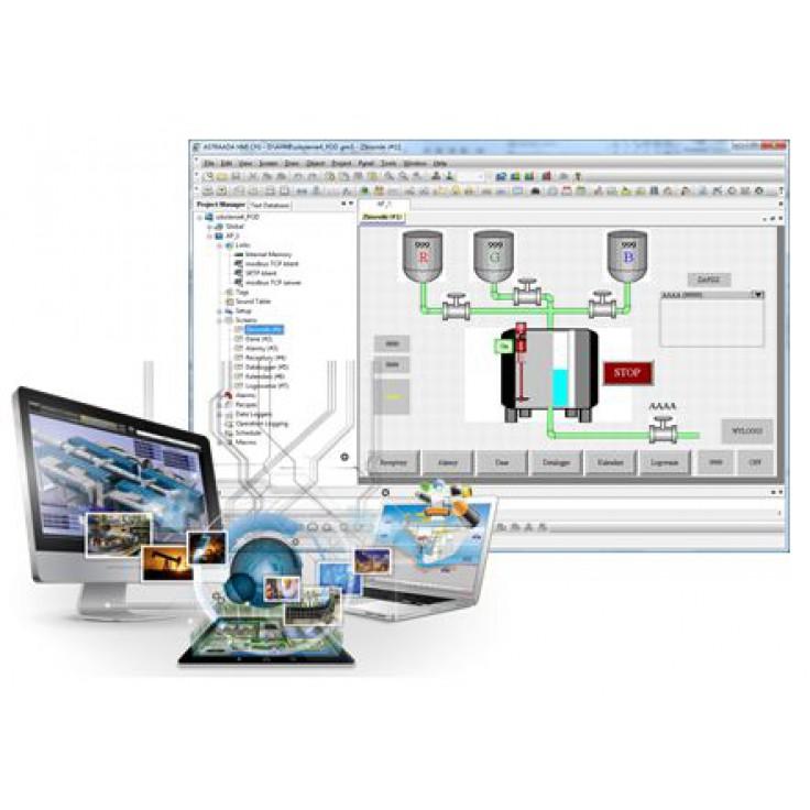 """E-szkolenie """"Panele operatorskie Astraada HMI"""" - podstawy tworzenia aplikacji - PROMOCJA (dla uczniów i studentów)"""
