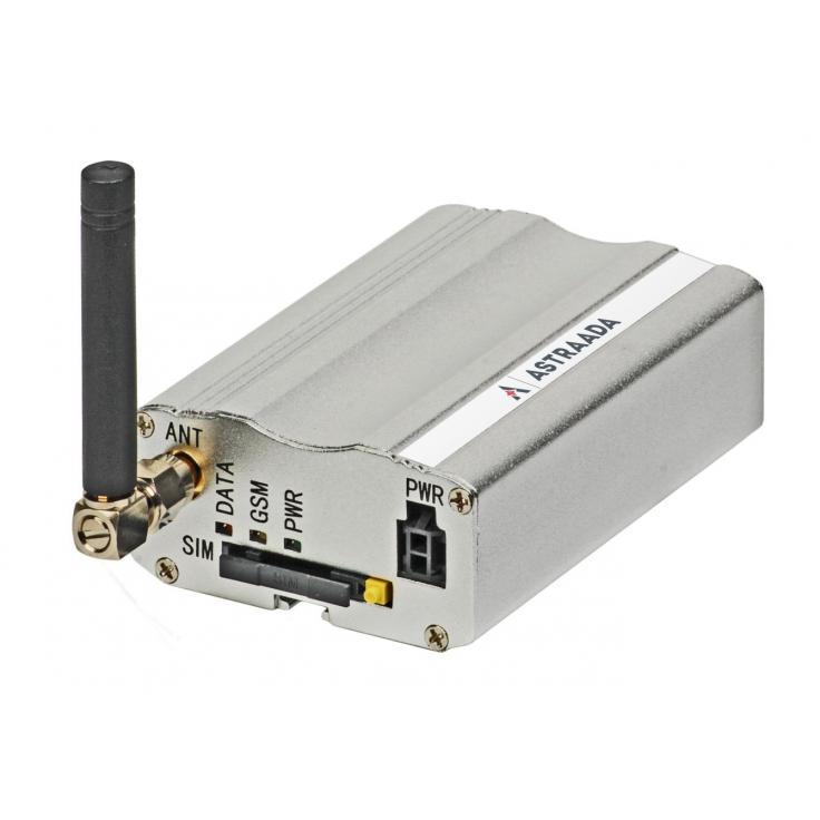 Modem przemysłowy GSM 2G (GSM/GPRS/EDGE); Modbus RTU (RS232) na Modbus TCP gateway; zdarzeniowe alarmowanie wiadomościami SMS;
