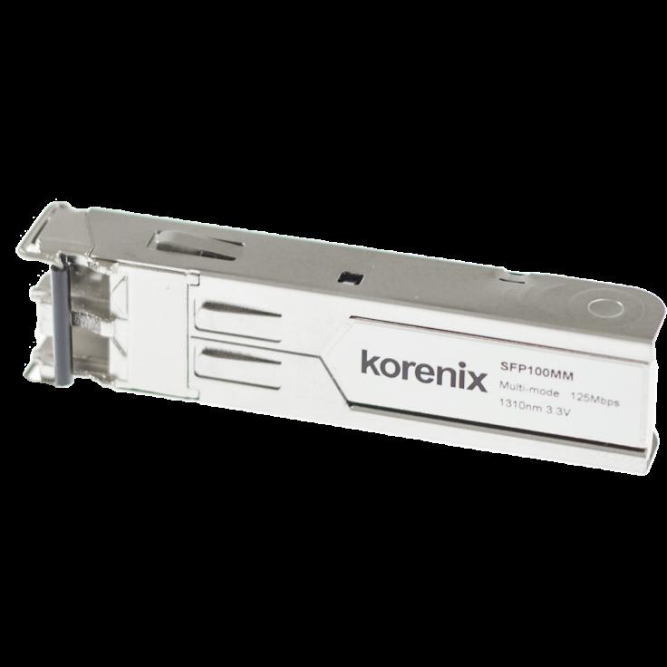 Moduł SFP - mini konwerter światłowodowy - 100 Mbps, multi-mode, 2 km