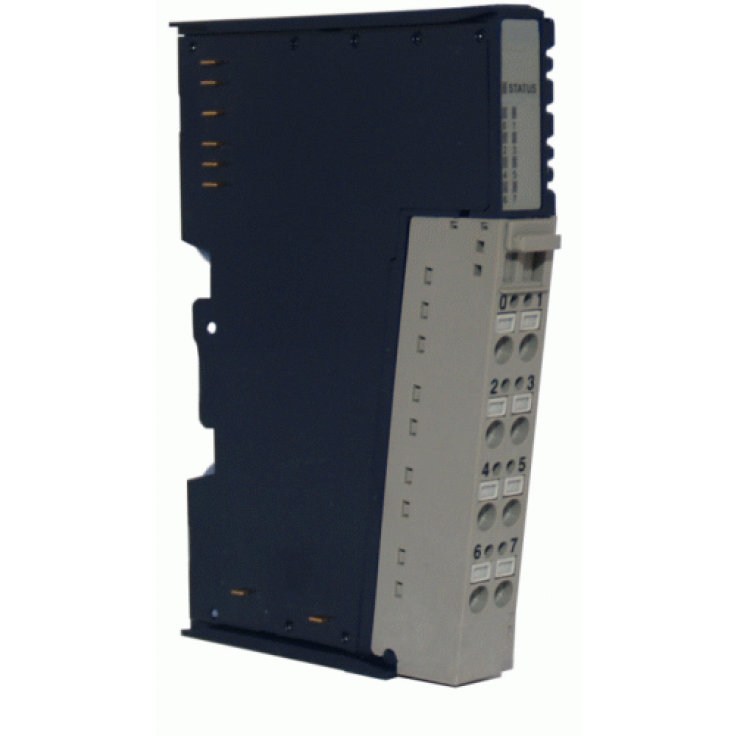 Moduł 4 wejść analogowych; napięciowy; 0-10VDC; 14 bitów