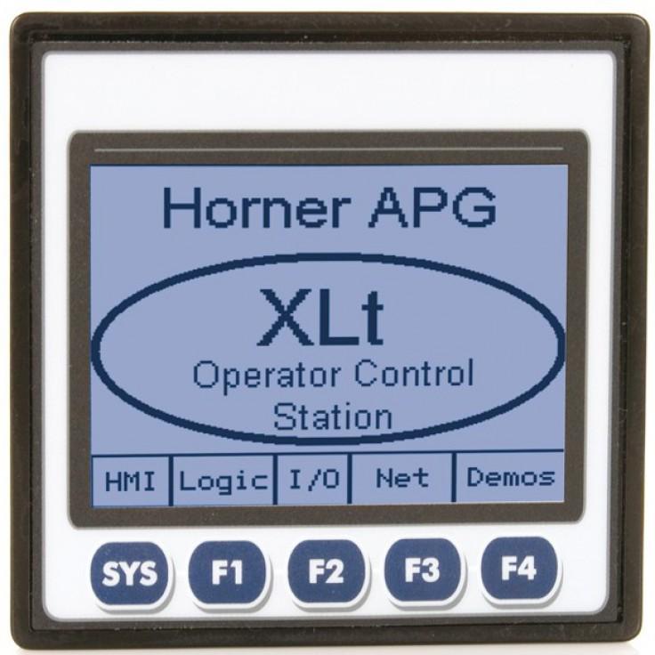"Sterownik PLC z HMI XLt - 3.5"", 12 DI (24VDC), 12 DO (24VDC), 2 AI (0-10V, 0-20mA, TC, RTD), 2 AO (0-10V, 0-20mA); zasilanie 9-30VDC"