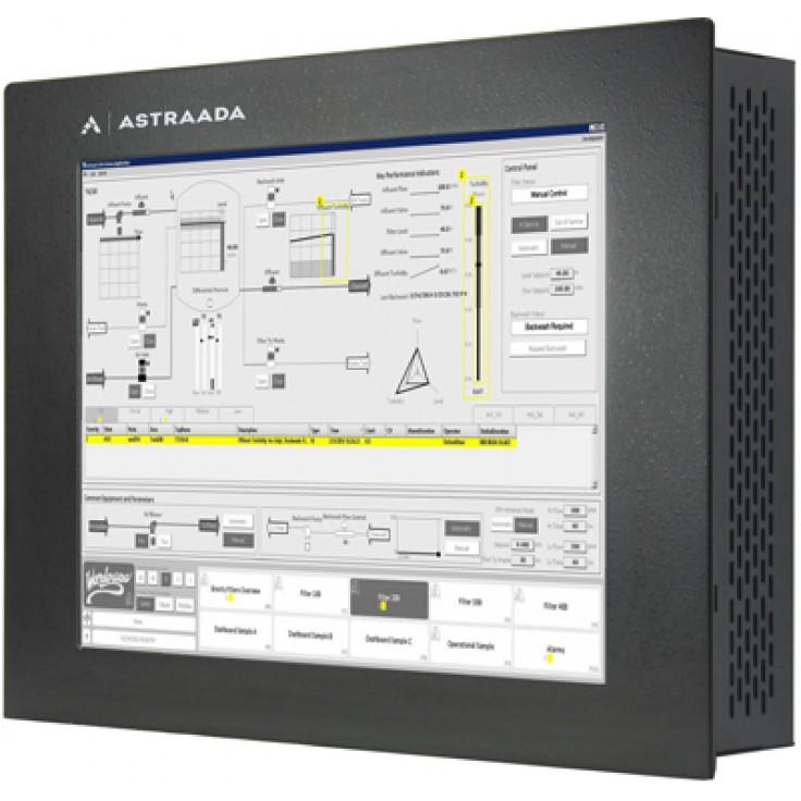 """Dotykowy komputer przemysłowy Astraada PC, 17"""" z licencją InTouch Runtime 500 2014R2, Intel Core 2 Duo P8400 (2x 2.24 GHz), 4GB RAM, HDD 320 GB, ekran rezystancyjny, Win 7 - PROMOCJA"""