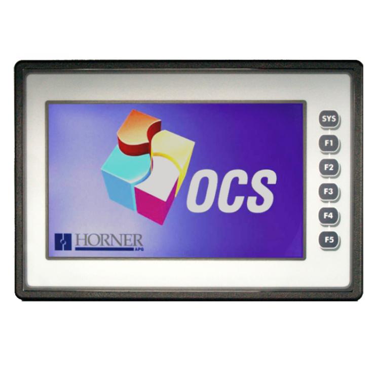 """Sterownik PLC z HMI XL7e - 7"""", 12 DI (12/24 VDC), 12 DO (24 VDC), 6 AI (0-10V, 0-20mA, TC, RTD), 4 AO (0-10V, 0-20mA); zasilanie 9-30VDC"""