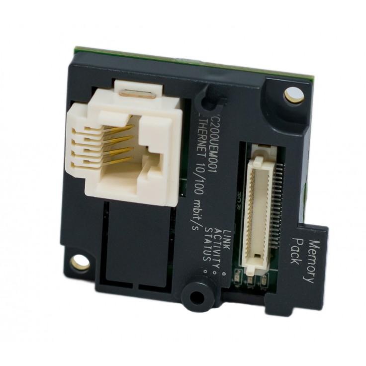 Moduł komunikacyjny Ethernet; 10/100BaseT, protokoły SRTP (serwer) lub Modbus TCP (klient/serwer)