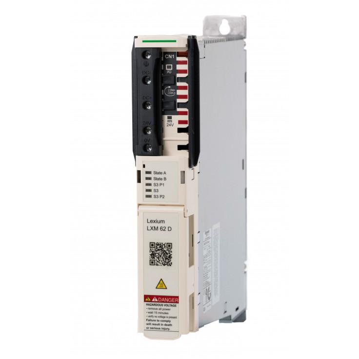 Serwonapęd Lexium 62; moc 4,3kW; prąd pracy ciągłej 9A; sterowanie Sercos