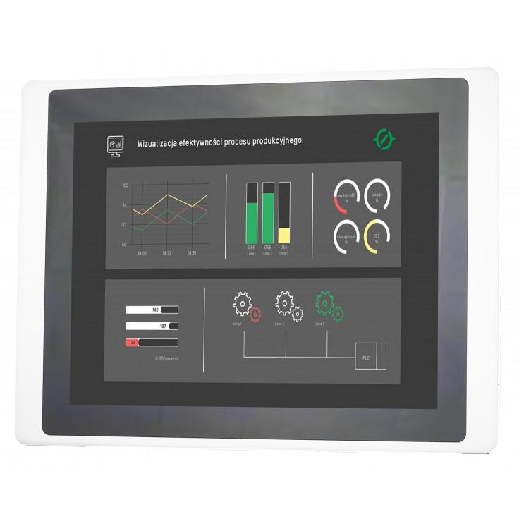 "PROMOCJA - Dotykowy panel operatorski Astraada HMI, matryca TFT 15"" (1024x768, 65k), RS232, RS422/485, 3x RS485, USB Client/Host, Ethernet, 30m gwarancji"
