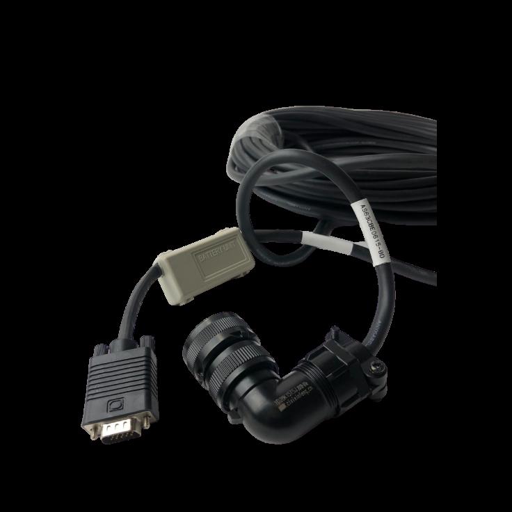Kabel 5m z baterią do enkodera absolutnego silnika 0.2…0.75kW, 230V