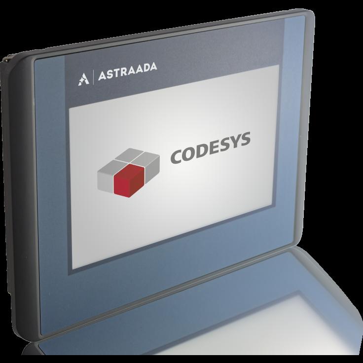 "Dotykowy terminal operatorski Astraada One, matryca TFT 4,3"" (430x272), 800 MHz, 512 MB Flash, 512MB RAM, 1x USB, 1x ETH (do Astraada One PLC)"