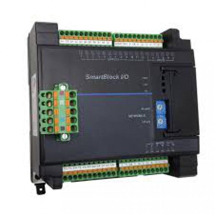 SmartBlock - 4 kanałowy moduł izolowanych wejść rezystancyjnych; obsługa Pt-100, Pt-1000; rozdzeilczość 0.1°C, komunikacja CsCAN