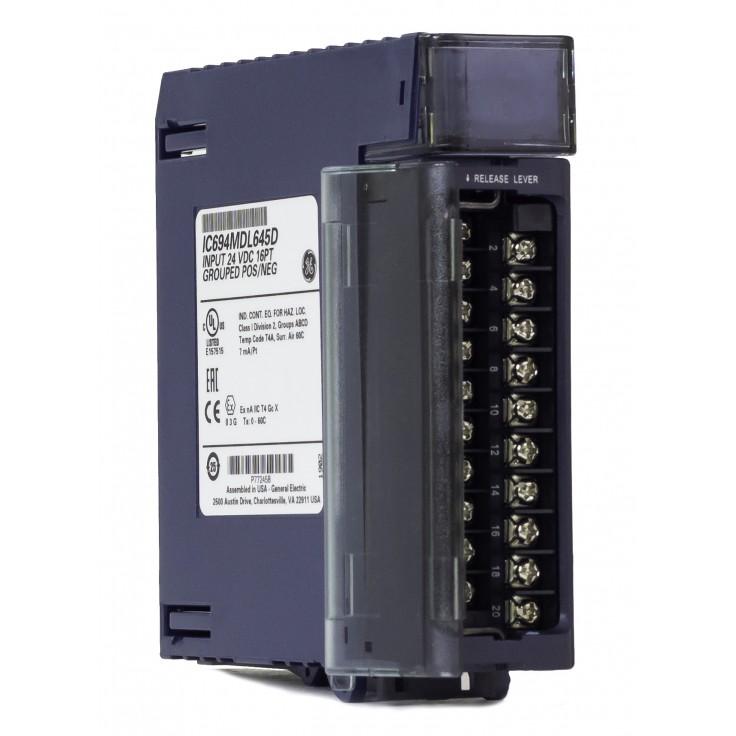 RX3i - Moduł 16 wejść cyfrowych (24 VDC; 7ms; logika dodatnia/ujemna)