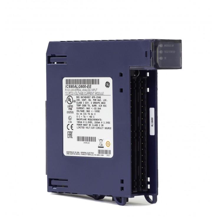 RX3i - 8 wejść analogowych uniwersalnych (0-20/4-20/±20 mA; 0-10/0-5/±5/±10 V; THM; RTD; 16 bitów); diagnostyka
