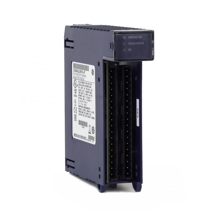 RX3i - 16 wejść analogowych lub 8 wejść różnicowych (0-20/4-20/±20 mA; 0-10/±10 V; 16 bitów); diagnostyka