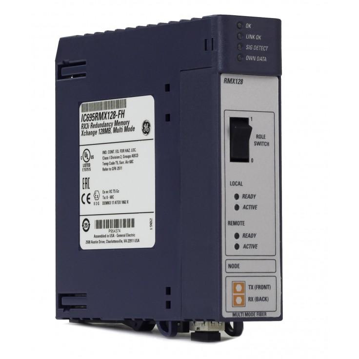 RX3i - Moduł do synchronizacji kontrolerów w układach redundancji (długość światłowodu do 300m)