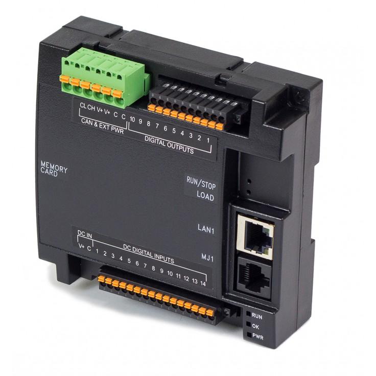 Zestaw startowy z e-szkoleniem - Sterownik PLC RCC1410; RS232, RS485, Ethernet, CsCAN, MicroSD;  14x DI 24 VDC, 10x DO 24 VDC; zasilanie 9-30 VDC