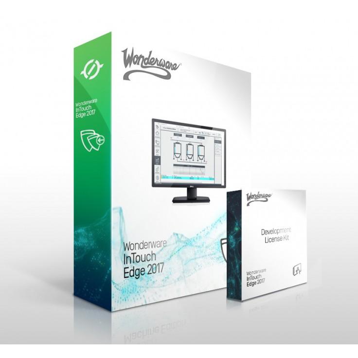 Zestaw InTouch Edge HMI 2017 - licencja deweloperska 1000 zmiennych na USB + Full Runtime na 500 zmiennych + e-szkolenie