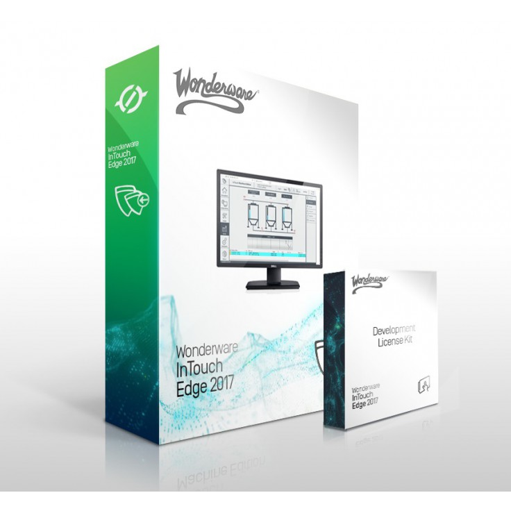 Wonderware InTouch Edge HMI 2017 Studio IDE - licencja deweloperska na 3000 zmiennych na kluczu USB