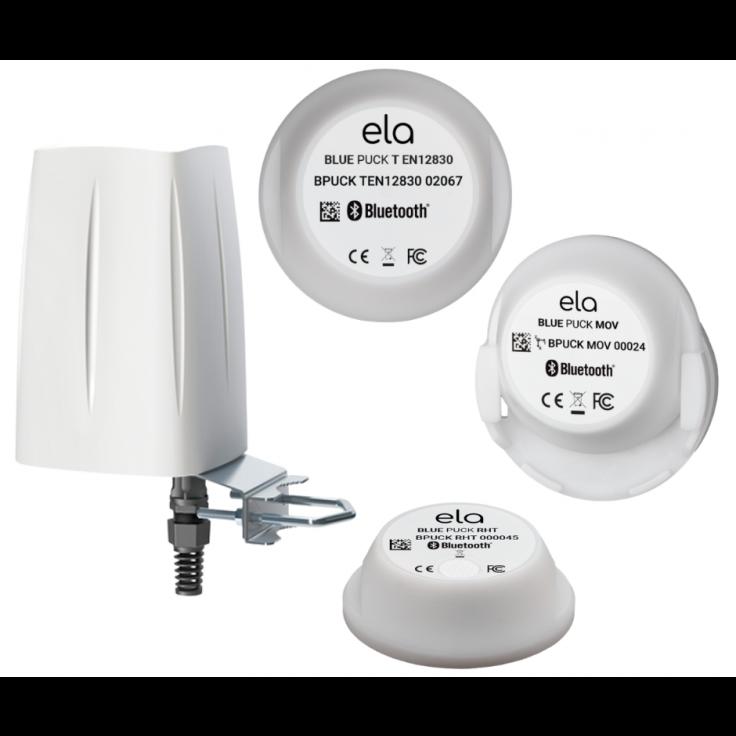 Zestaw startowy - Przemysłowe czujniki IIoT. Komunikacja Bluetooth/Wi-Fi/LAN/Modbus TCP/MQTT