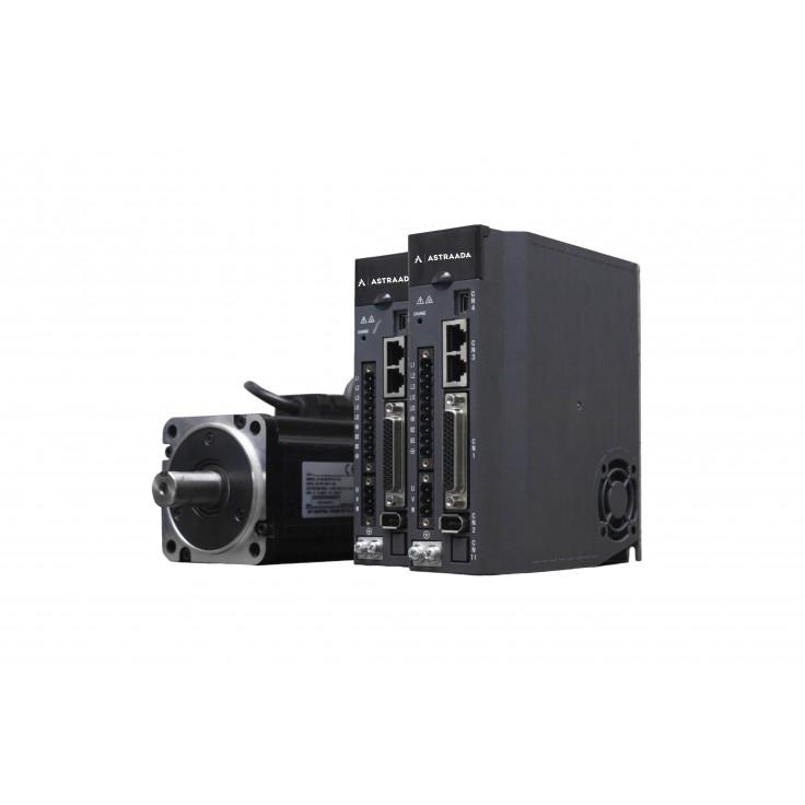 Kabel SRV-64 3m. z baterią do enkodera absolutnego silnika 200W, 400W oraz 750W - elastyczny