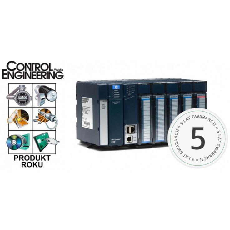 RX3i - Zasilacz do kaset rozszerzających 24/48 VDC; 30 W (zwiększona moc na napięciu 5 V)
