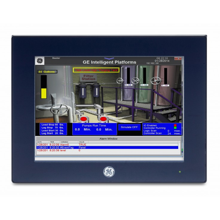 "Dotykowy panel operatorski QuickPanel+, 10"" Multi-touch, 1GHz, 1024 MB RAM, 512 MB Flash, 2xETH, RS232, 2xUSB, 24VDC"