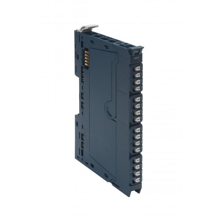 RSTi-EP - 4 wejścia analogowe prądowo/napięciowe (0-5V; ±5V; 0-10V; ±10V; 0-20mA; 4-20mA); 16 bit; diagnostyka modułu i kanałów pomiarowych