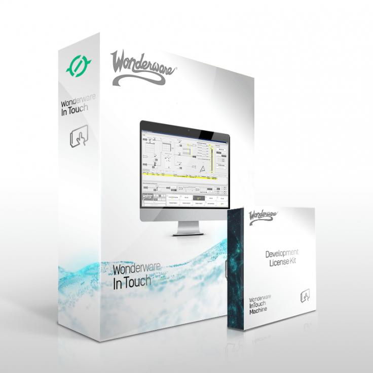Zestaw Wonderware InTouch 2017 - Development z Runtime z I/O na 500 zmiennych + e-szkolenie + dodatkowe wsparcie