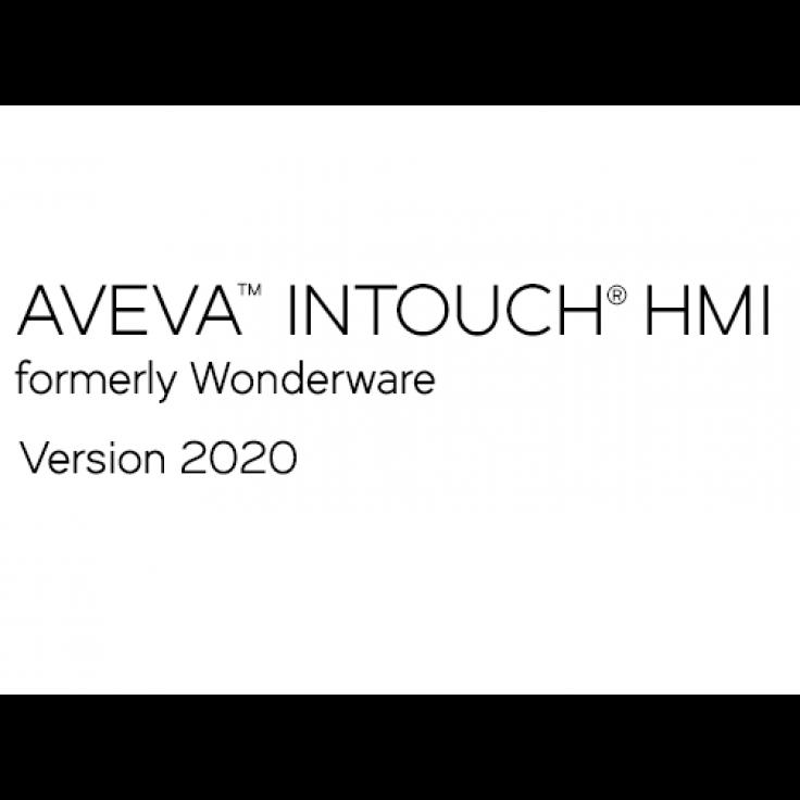 AVEVA InTouch HMI (dawniej Wonderware) 2020 Runtime z I/O - 60000 zmiennych