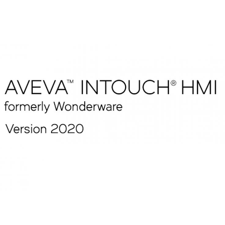 Wonderware InTouch 2020 Runtime bez I/O - 1000 zmiennych - uaktualnienie