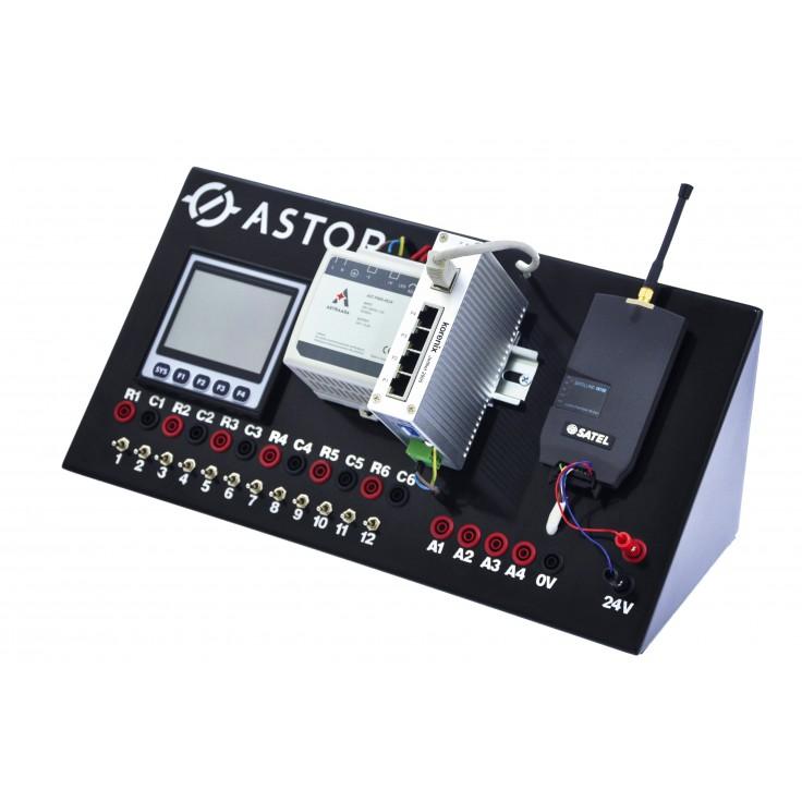 Przenośny zestaw dwóch stanowisk do nauki programowania komunikacji radiomodemowej