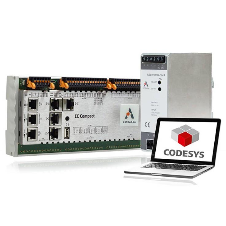 Zestaw szkoleniowy Astraada One - Sterownik ECC2200 + zasilacz 24 VDC + targety + e-szkolenie
