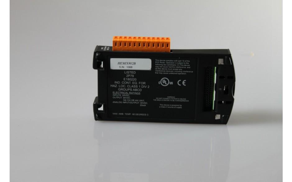 SmartStack; 8 wej. dyskr. (12/24VDC); 8 wyj. dyskr. 24VDC; ESCP; 4 wej. Anal.; 2 wyj. anal. (4-20mA) 3