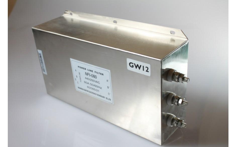 Filtr wejściowy do falownika 37 kW, zasilanie 3x400V 3