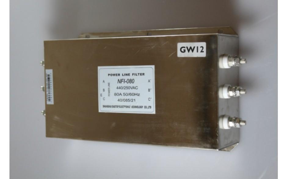 Filtr wejściowy do falownika 37 kW, zasilanie 3x400V
