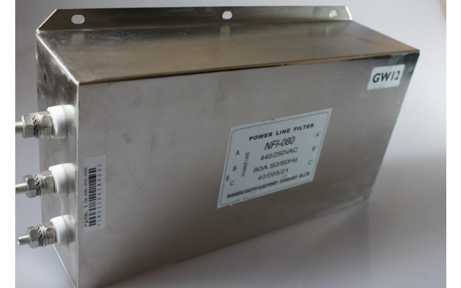 Filtr wejściowy do falownika 37 kW, zasilanie 3x400V 2