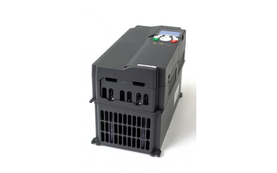 Falownik do silnika 11 kW wektorowy, STO, filtr EMC, panel LCD 4