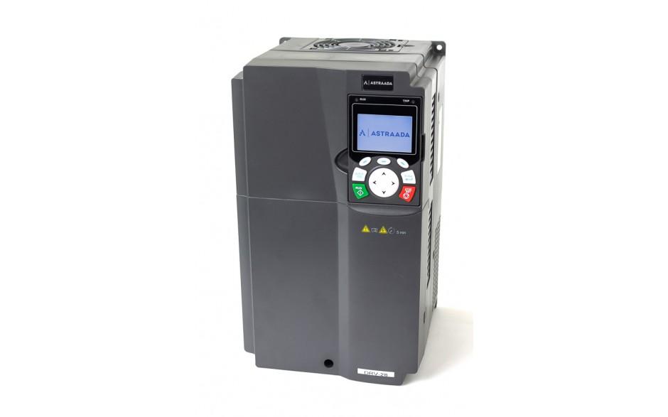 Falownik do silnika 22 kW wektorowy, STO, filtr EMC, panel LCD 2