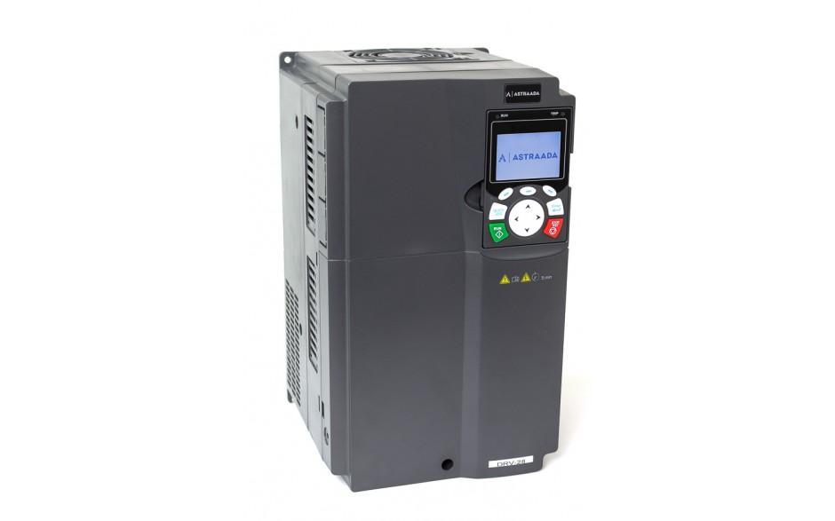 Falownik do silnika 22 kW wektorowy, STO, filtr EMC, panel LCD 3