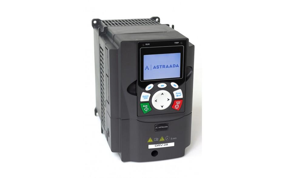 Falownik do silnika 1.5 kW wektorowy, STO, filtr EMC, panel LCD 3