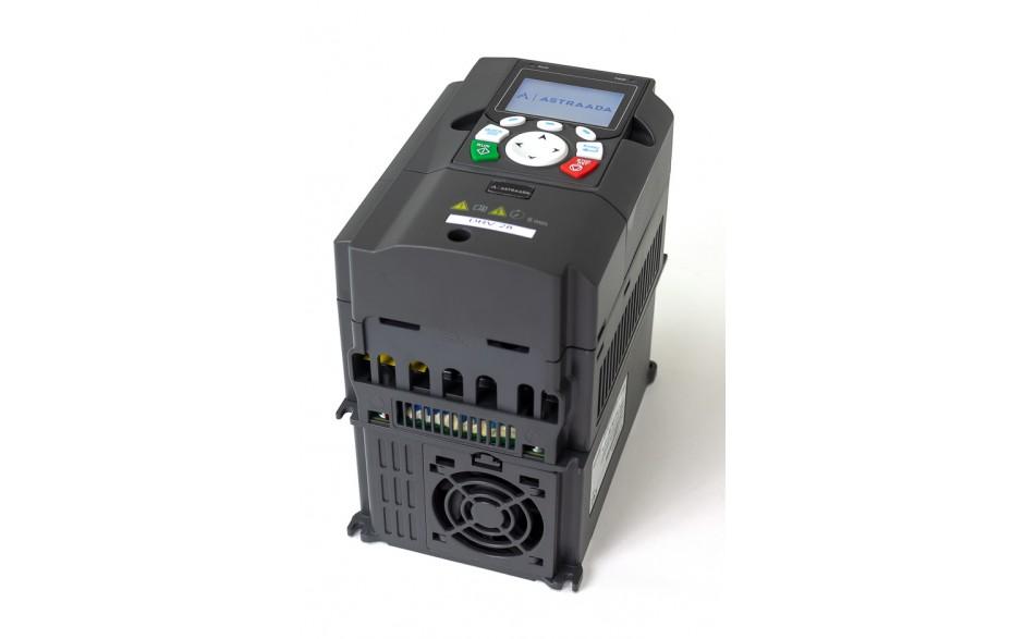 Falownik do silnika 2.2 kW wektorowy, STO, filtr EMC, panel LCD 4
